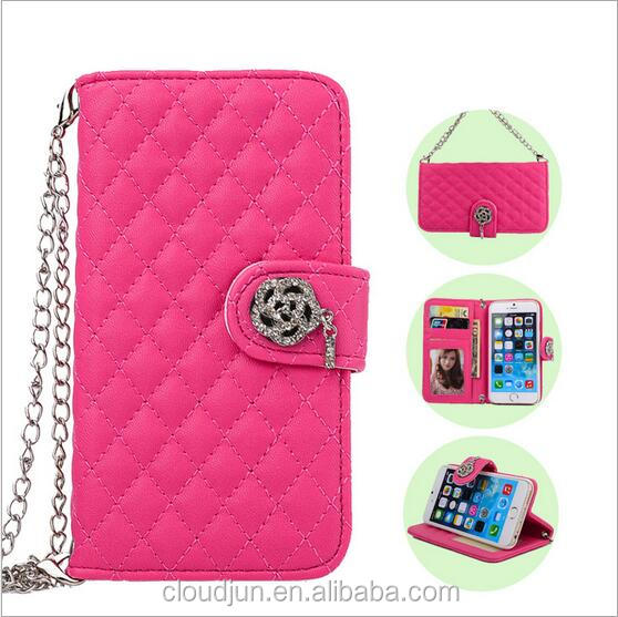 Manufacture Hot Selling Colourful camellia Leather flip Wallet Case for samsung galaxy s5 active mini s5570