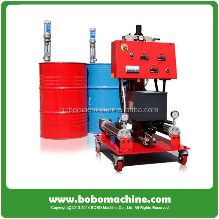 Polyurethane spray foam machine high pressure