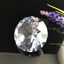 30mm Clear Shinning Polished Home decorative Crystal Glass Diamond