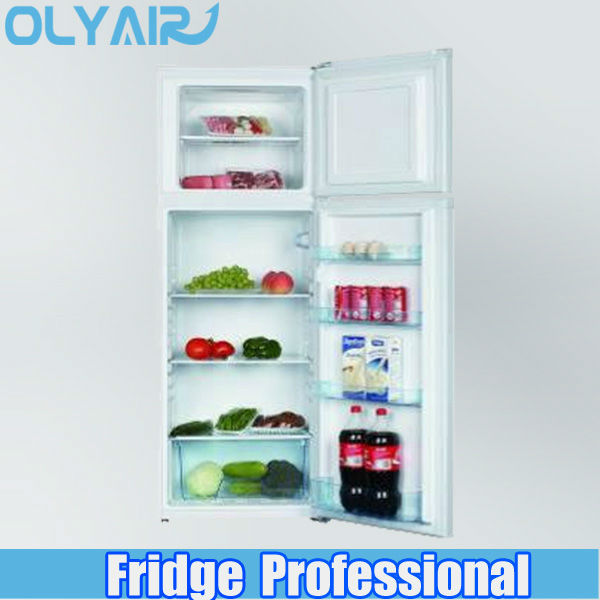 Double Door Refrigerator large capacity Good to Use Vegetable Crisper with Humidity Control