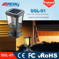 Die-Casting Aluminum China Supplier Outside Cheap Garden Lights Solar