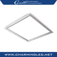 slim DMX control square led ceiling panel light