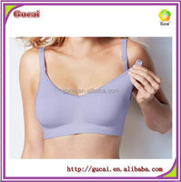 Classical Gucai Women's 9 Color Nylon Maternity Nursing Hands Free adult breastfeeding bra