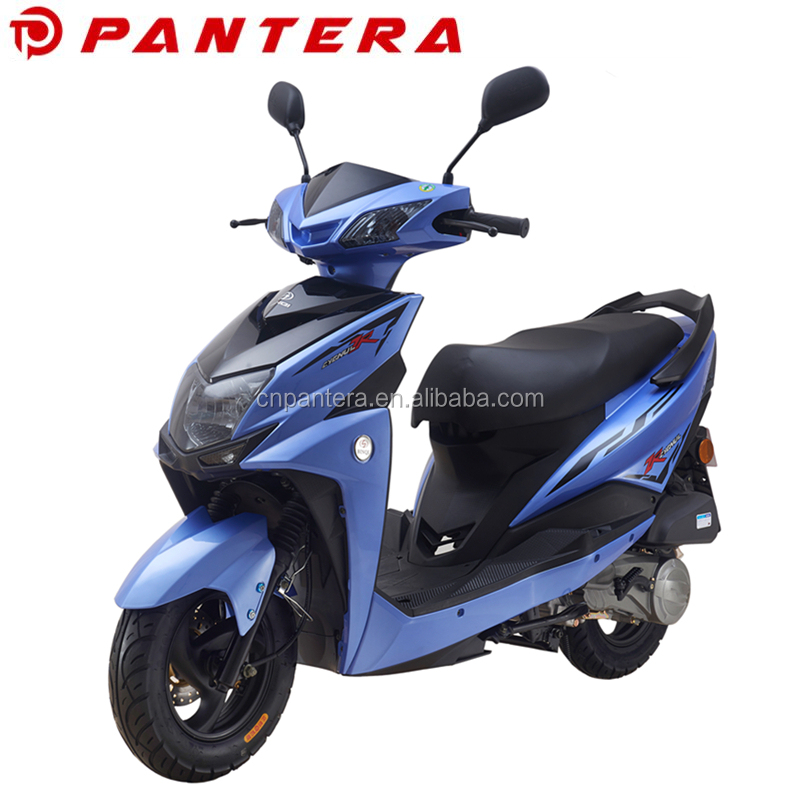 Lightweight 4 Stroke Scooter Automatic Lady Motor 115cc Motorcycle