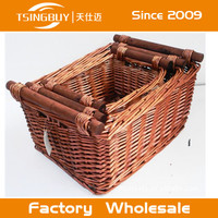 high quality gift basket wicker baskets two styles wicker picnic basket set for 4 person