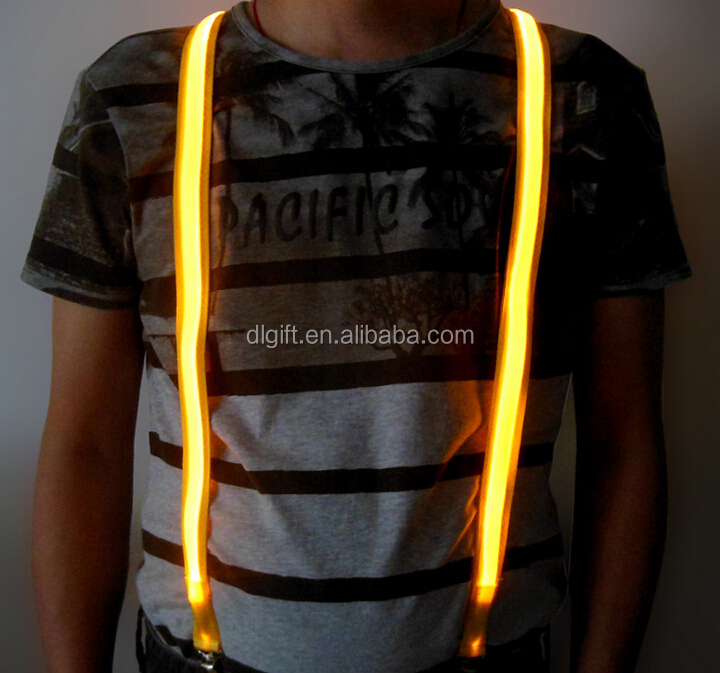 yellow fabric high visibility reflective straps flashing led safety vest