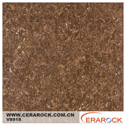 Office decor brown crystal porcelain polished floor tiles price $4.2-$4.9 60*60cm