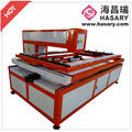 Allowing further abtomation of textile and foil laser processing laser die board co2 150w laser cutting machine for hot sale