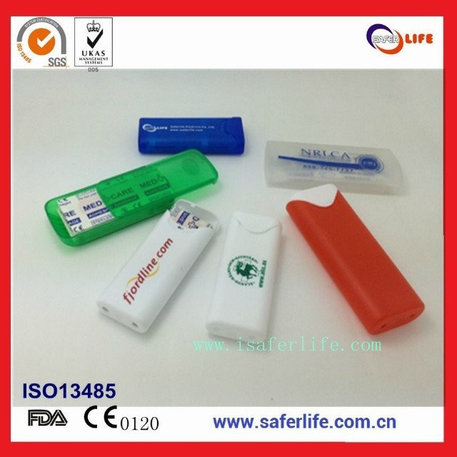 2014 wholesale customized plastic band aid box