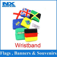 custom country flag wristbands wholesale