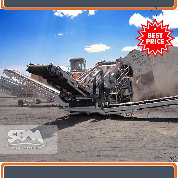 Iron ore, copper ore, gold ore crushing used stone mobile production line