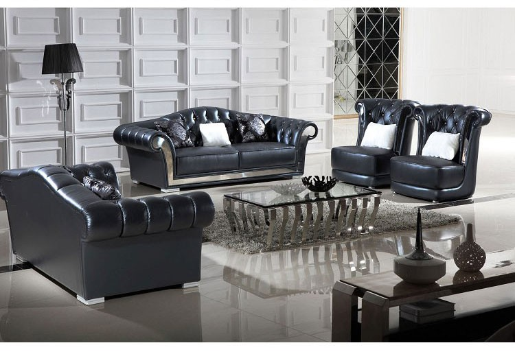 Top Quality Classic Italian Leather Furniture Living Room Sofa Buy Furnitur