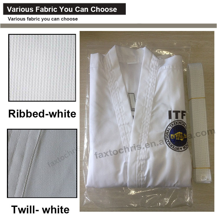 Martial Art Style custom kids taekwondo uniforms