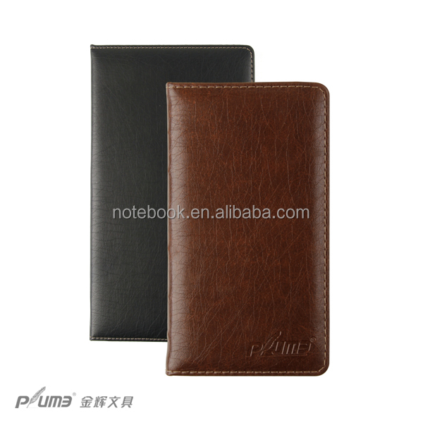 Faux cheap soft cover leather address book