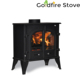 Wood Burning Solid Fuel Stoves Double Door