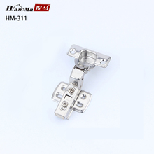 201 stainless steel soft closing clip on cabinet Hinge
