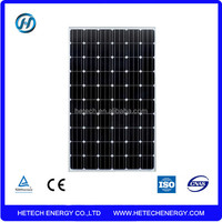 Monocrystalline solar panel 250Wp 30V DC output Panels