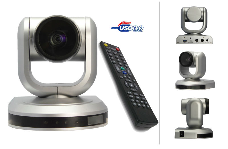 CMOS RS232 USB PTZ Professional HD Video Low Price 1080p Mini Camera 360 Support Skype