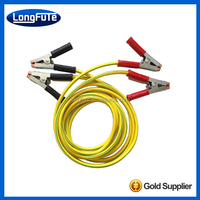 25ft Heavy Duty 2 Gauge Booster Jumper Cables Auto Car Jumping Cables