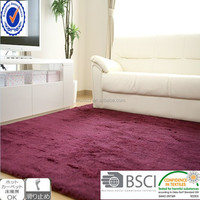 100% polyester microfiber cheap wholesale area rugs