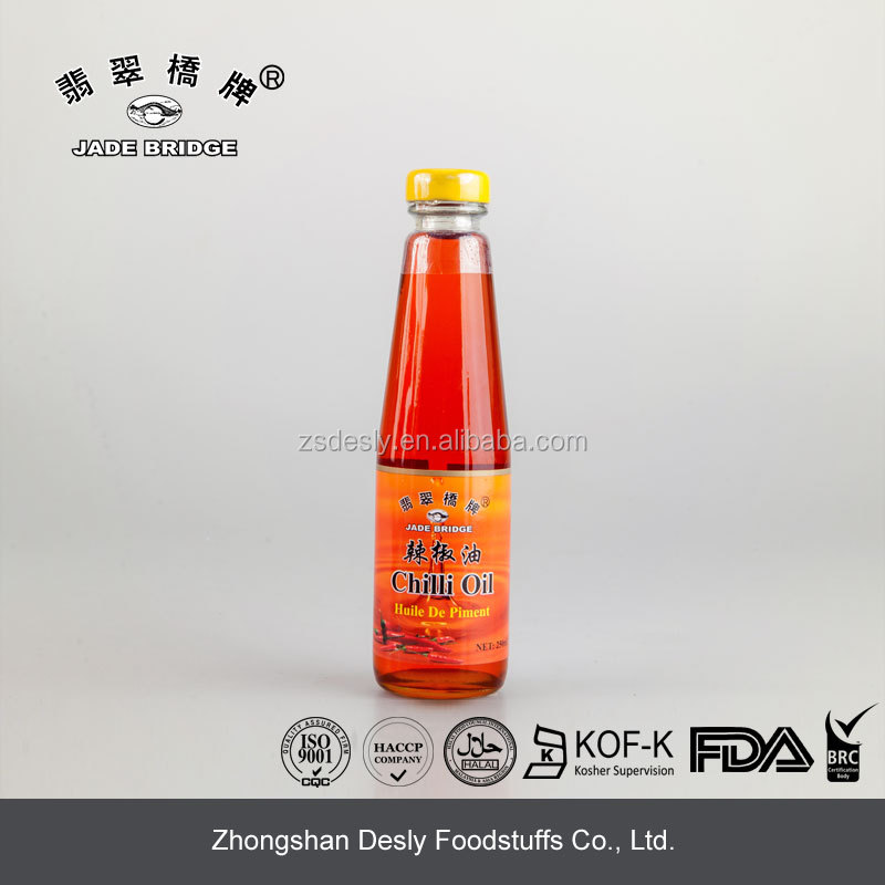 Chinese Premium Natural Cooking Chilli Oil 250ml