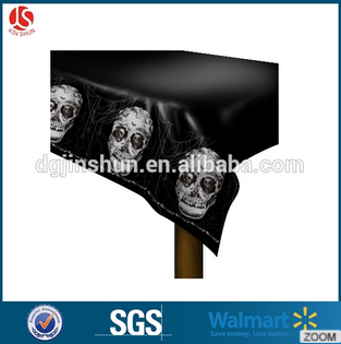 Halloween SCARY Decoration Zombie Apocalypse Party Blood Spattered Table Cover54*108''