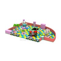 2018 colorful naughty castle electric different indoor playground equipments south Africa used playground games