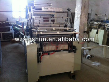 SHXJ-B full automatic high speed double line bag making machine