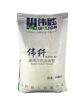 Powder Shape and Apparel Detergent Use detergent powder