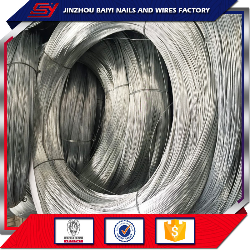 winding wire gauge/electro galvanized wire/coil wire