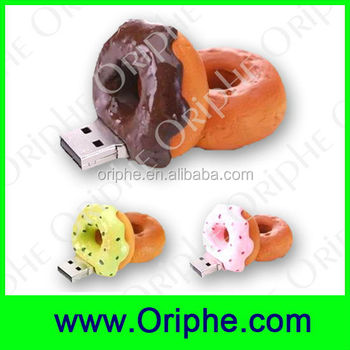 Promotional Food Gifts Donuts USB Flash Drive