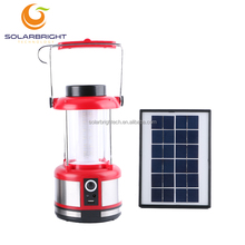 Solarbright emergency hang portable rechargeable outdoor lighting 36LED 6v 4ah lead acid battery camping lantern