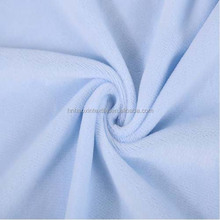 P/D Solid Two/Both Side Brushed Super Soft Spandex Fabric for Baby Garment/Ladies