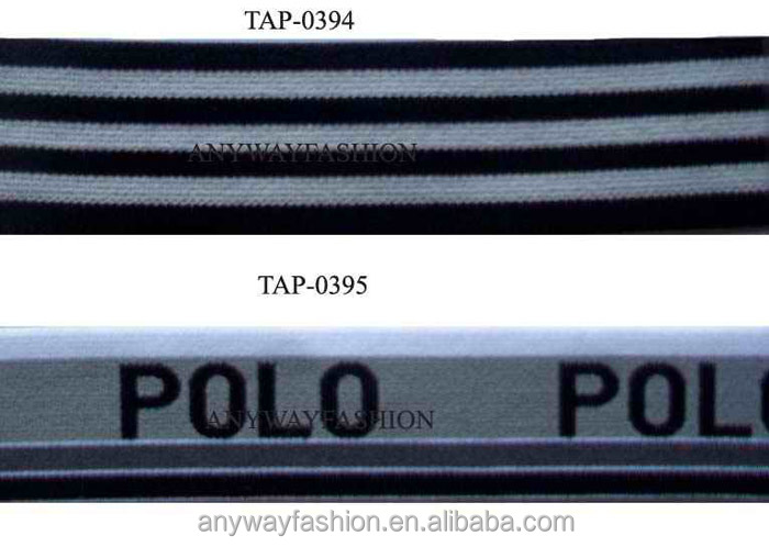 Fashion custom sports wear print ribbon