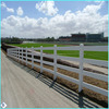 2014 Anping Baochuan high quality hot sale square post 3 rail 1.8*2.1m grassland cattle steel tube fence factory