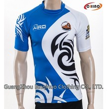 Breathable Rugby League Shirt Manufacture