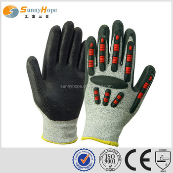 glove importers Industrial safety glove impact resistant mechanic glove