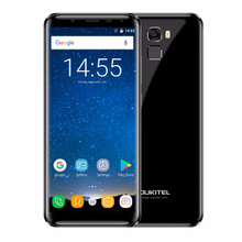 5.7inch Oukitel K5000 5.18:9 Infinity Display Android 7.0 4G 64G Dual 21MP+16MP 5000mAh 9V/2A Quick Charge Fingerprint Smartphon