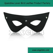 Cheap Leather Blindfold Sexy Eye Mask Patch Bondage Masque Mask Sex Aid Party Fun Flirt Sex Toys For Couple Adult Mask Women Man