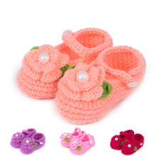 Fashion Hand crochet knitting baby shoes