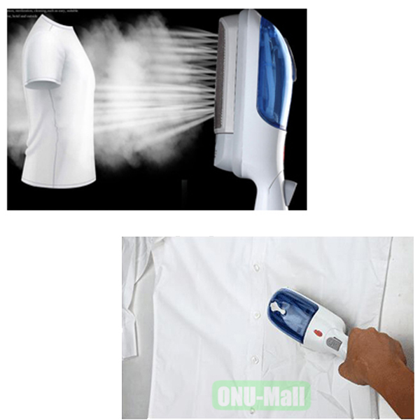 Mini Handheld Portable Garment Steamer Iron Brush for Clothes