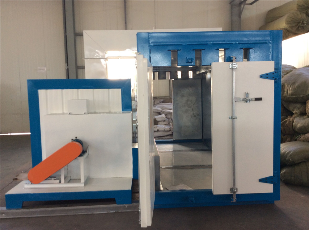 industrial powder curing oven with diesel heater