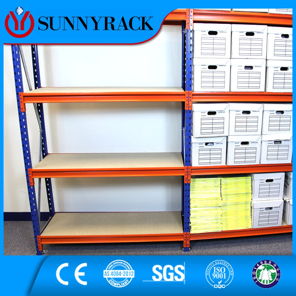 Medium duty storage shelves 4S auto spare parts rack