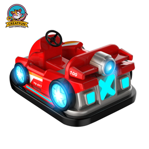 China factory outdoor square amusement ride kids car game battery bumper car