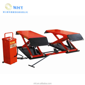car equipment scissor lift for 3 tons move