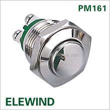 ELEWIND 16mm Metal push <strong>switch</strong>(PM161H-10/N)