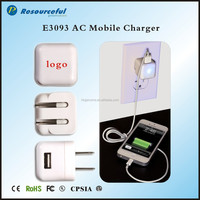 Portable Consumer Electronics AC Travel charger Adapter