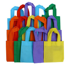 Custom Colorful Collapsible Non Woven Shopping Bag