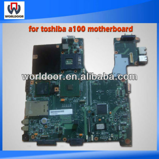 for toshiba a100 motherboard with fully tested