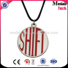 Made in China Cheap Die casting 60mm size sliver plated medal with customized letters